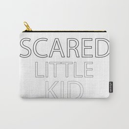 Scared Little Kid Carry-All Pouch