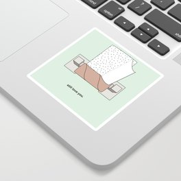 Empty Roll Sticker