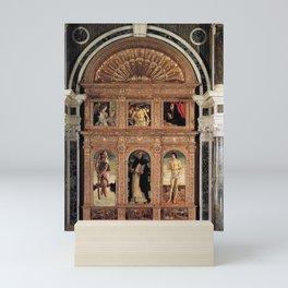 Giovanni Bellini - Altarpiece of St Vincent Ferrer Mini Art Print