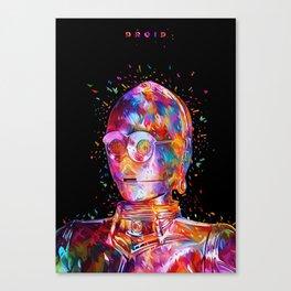 Droid Canvas Print