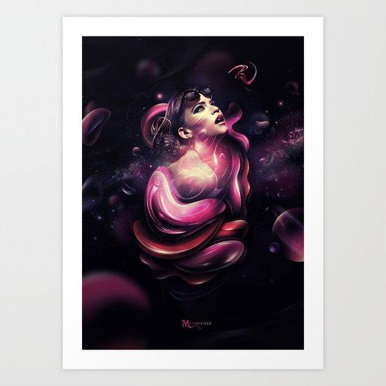 Mesmerized Art Print