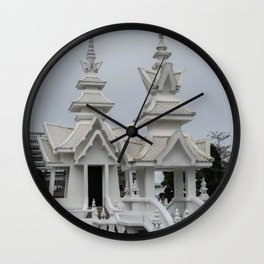 The White Temple - Thailand - 014 Wall Clock