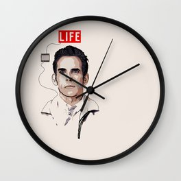 Walter Mitty Wall Clock