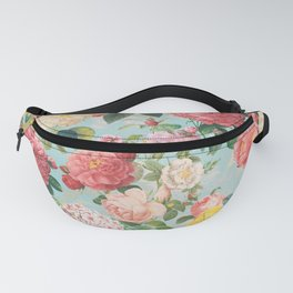Floral B Fanny Pack