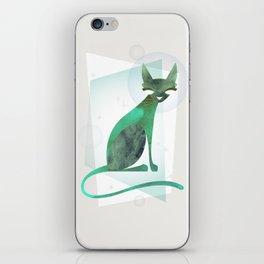 Mid-Century Feline iPhone Skin