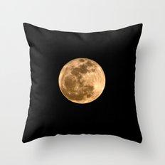 La Luna 3 Throw Pillow