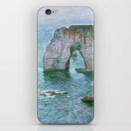 Claude Monet, French, 1840-1926 Manne-Porte, Etretat iPhone Skin