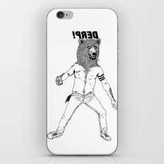 DERP!!! iPhone & iPod Skin