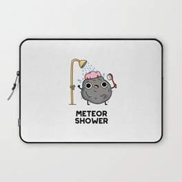 Meteor Shower Cute Astronomy Pun Laptop Sleeve