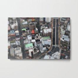 Vue aérienne Metal Print