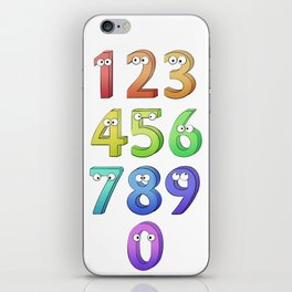 I count them! iPhone Skin