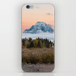 Autumn Sunrise in the Tetons iPhone Skin