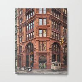 Broadway & Bleecker Metal Print