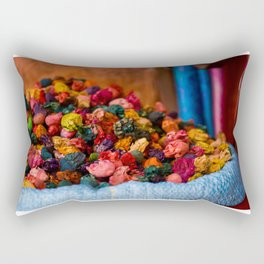 At the edge of the market Rectangular Pillow