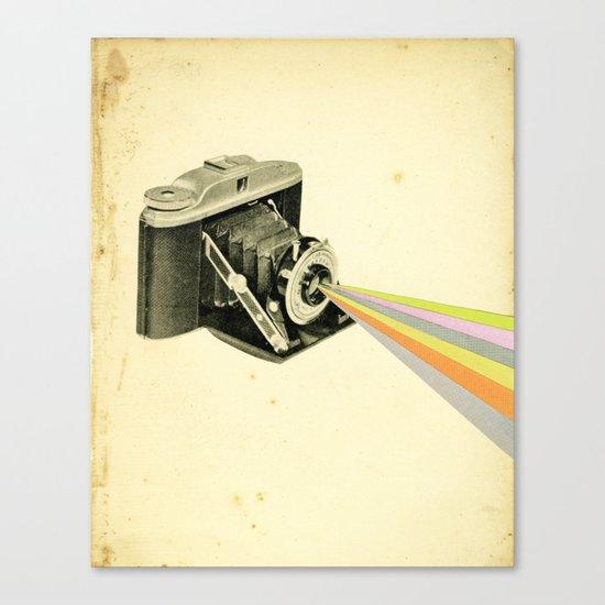 It's a Colourful World Canvas Print