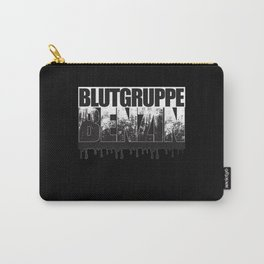 Blutgruppe Benzin - Motorcycle Rider Design Carry-All Pouch