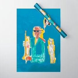JAZZ Basquiat Wrapping Paper