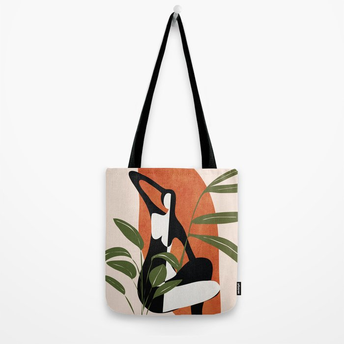 Abstract Female Figure 20 Tote Bag