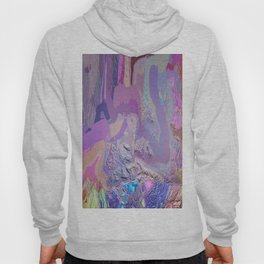414 - Abstract Colour Design Hoody