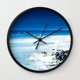Hookipa Blue Sensation Wall Clock