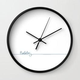 Lake Balaton 2 by DR  Wall Clock