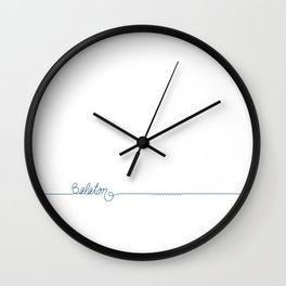 Lake Balaton 2 by DR  Wall Clock