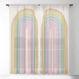 Gradient Arch XXI Sheer Curtain