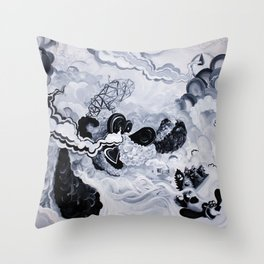 Panda Inception Throw Pillow