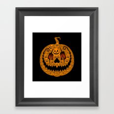 Jack of 1,000 Faces Framed Art Print