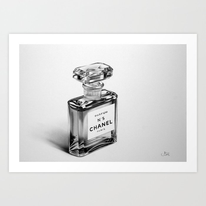Perfume Bottle Art Print