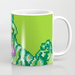 Ghostbusters Slimer Pixel Art Coffee Mug