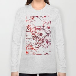 Cherry Blossom Sketch 2 Long Sleeve T-shirt