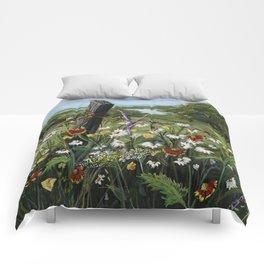 Wild Daisies Comforters
