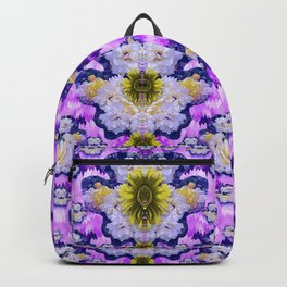 flowers from sky bringing love and life Backpack