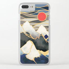 Ice Mountains Clear iPhone Case