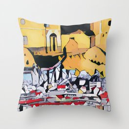 Abstract 50 #8 Throw Pillow