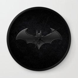 Superman - Bat man Wall Clock