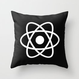 Atom | Science | Molecules Throw Pillow