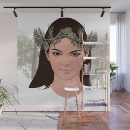 lady of the forest Wall Mural