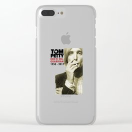 Tom Petty RIP 1950 - 2017 Clear iPhone Case