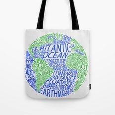 Oceanography Tote Bag