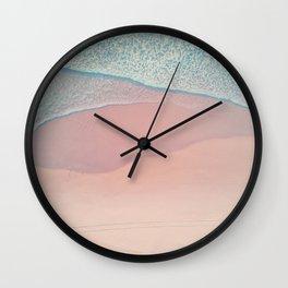 Flamingo milk Wall Clock
