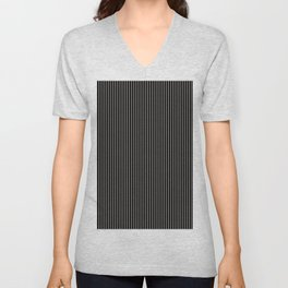 Retro Lady Bug Stripe 2 Unisex V-Neck