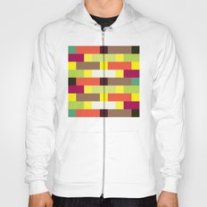 Multicolour stripes pattern Hoody