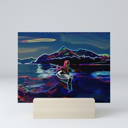 Kayak Mini Art Print