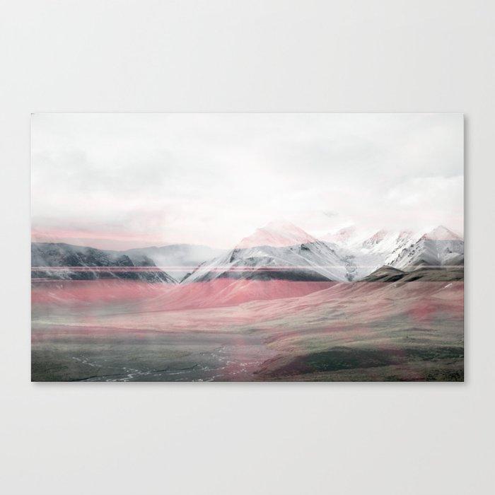 Rose Fog Canvas Print