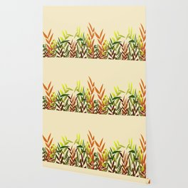 Colored Leaves yellow - Illustration Wallpaper