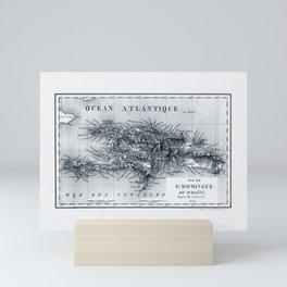 Map Of Haiti 1826 Mini Art Print