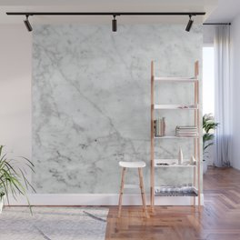 White Marble - #629 Wall Mural