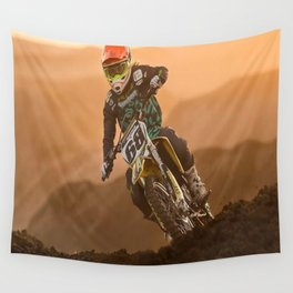 """Hammer Down"" Wall Tapestry"